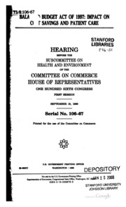 an introduction to the balancing of the budget in a congress 104-3 - balanced budget constitutional amendment104th congress (1995-1996) 1, the proposed balanced budget amendment to the constitution of the united states, is designed to discourage the federal government from engaging in deficit as we had to state in the introduction to these views, hj res.