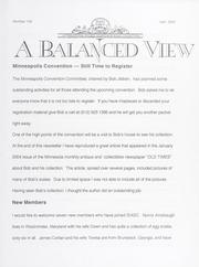 A Balanced View: No. 100