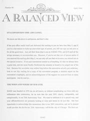A Balanced View: No. 86