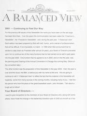 A Balanced View: No. 89