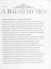 A Balanced View: No. 90