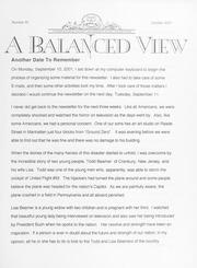 A Balanced View: No. 91