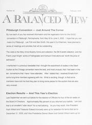 A Balanced View: No. 92