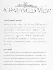 A Balanced View: No. 95