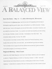 A Balanced View: No. 97