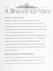 A Balanced View: No. 98