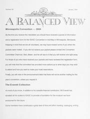 A Balanced View: No. 99