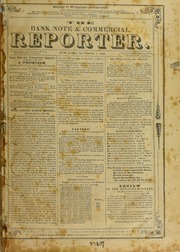 The Bank Note & Commercial Reporter, 10/1/1850