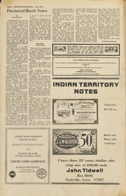 Bank Note Reporter: July 1973