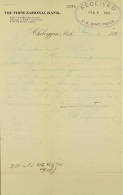 Bank order for coins (2-5-1895)