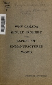essays on forestry in canada Clear-cutting is a controversial practice that is widely applied in forests managed for wood environmental reviews black spruce sites in eastern canada.