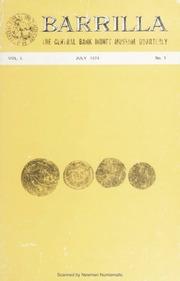 Barrilla: Vol. 1 No. 1
