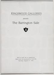 The Barrington Sale