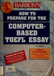 barrons based computer essay prepare toefl