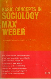 from max weber essays in sociology weber max  borrow basic concepts in sociology