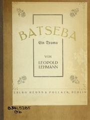 Batseba : ein drama ..