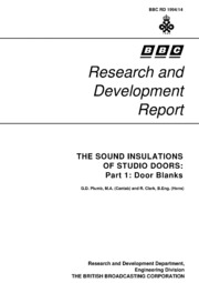 BBC Research and Development Report Number 1994-14  sc 1 st  Internet Archive & BBC Research and Development Reports : Free Texts : Free Download ...