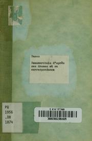 Beaumarchais daprès ses drames et sa correspondance : conférence littéraire faite au Cercle artistique le 23 mars 1874