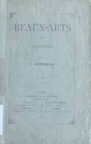 Beaux-arts et artistes