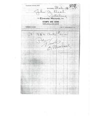 Beck Correspondence File, Michael-Zerbe