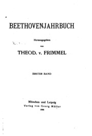 Vol 2: Beethovenjahrbuch