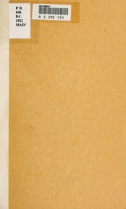 essays on chivalry romance and the drama