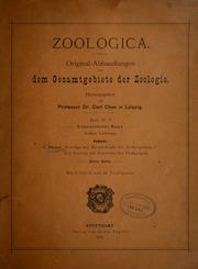 Vol pt2: Beiträge zur Morphologie der Arthropoden. I. Ein Beitrag zur Kenntnis der Pedipalpen