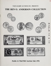 The Ben O. Anderson Collection (pg. 63)