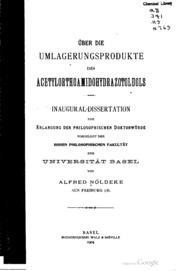Über die umlagerungsprodukte des acetylorthoamidohydrazotoluols..