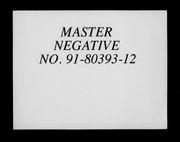 Über Goethes methode der naturforschung microform; ein Vortrag von Otto Meyerhof ..