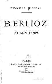 Berlioz et son temps