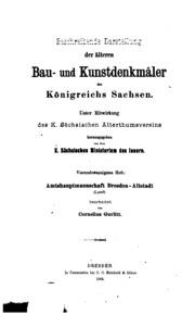 Vol 1;andnbsp;v. 24: Beschreibende Darstellung der älteren Bau- und Kunstdenkmäler der Provinz ...