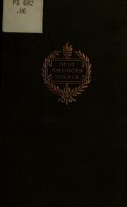 the oxford book of american essays matthews brander  best american essays