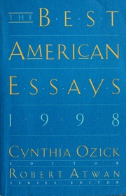 best american essays howard john r john raymond  join waitlist the best american essays 1998