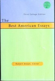 best american essays howard john r john raymond  borrow the best american essays