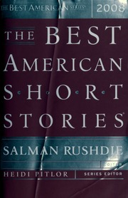 The Best American Short Stories 2008 Rushdie Salman Free Download Borrow And Streaming Internet Archive