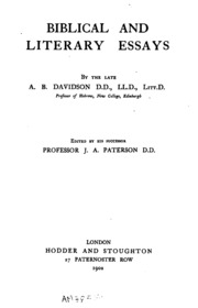 lightfoot biblical essays Biblical essays j b lightfoot by deborahcarrion - issuu joseph barber lightfoot (1828 1889), also known as j b lightfoot, was an english theologian, preacher, canon of st paul's cathedral and bishop of durham.
