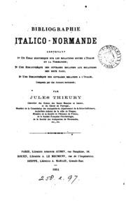 Bibliographie italico-normande