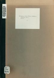 Biblis. Poème de Georges Boyer, mis en musique pour mezzo-soprano, ténor, baryton and choeurs et orchestre