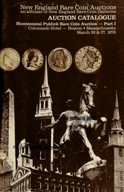 Bicentennial publick rare coin auction ... [03/26-27/1976]