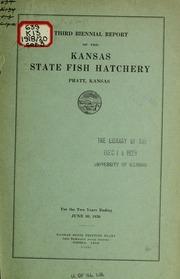 Biennial report kansas fish and game dept free for Kansas fish and game