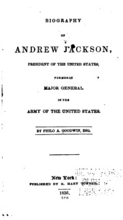 an introduction to the life of andrew jackson in the united states Andrew jackson and his home, the hermitage, became legend due to his military conquests, presidential policies, action in office and his big personality.