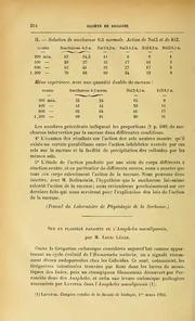 Vol 54: Sur un flagellé parasite de l-Anopheles maculipennis