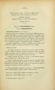 Vol 1899: Diagnose des especes nouvelles d-Holothuries draguees par le Travailleur et le Talisman. Deuxieme note