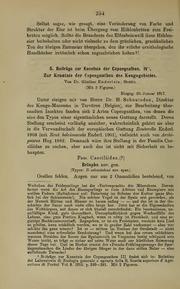 Vol 49: Beitrage zur Kenntnis der Copeognathen. iv. Zur Kenntnis der Copeognathen des Kongogebietes