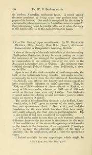 Vol 17: XV.—The male of Apus cancriformis