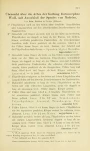 Vol 27: Übersicht über die Arten der Gattung Boromorphus WOLL. mit Ausschluß der Spezies von Madeira