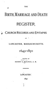 The birth marriage and death register church records - Registry office of births marriages and deaths ...