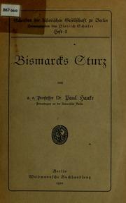 Bismarcks Sturz
