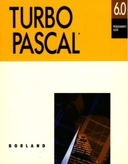 borland :: turbo pascal :: Turbo Pascal Version 6 0 Programmers